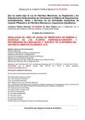 Bases para la Licitación Publica Nacional P4LNO00086 - Pemex