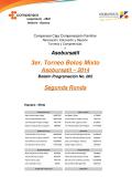 Boletín Torneo Bolo Mx Asobursatil No. 002 - Olimpiadas Deportivas