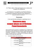 Oficio No - Poder Judicial del Estado de Campeche