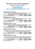 proceso cas n° 124-2014 proceso cas n° 125-2014 proceso cas n