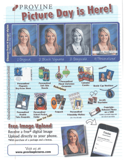 Provine School Picture Order Form 2014