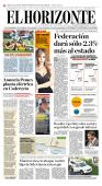Federación dará sólo 2.3% más al estado - El Horizonte