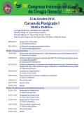 Cursos de Postgrado I - AMCG-2014