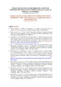 publicaciones de los miembros del grupo de cooperación - INEF