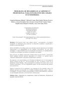 programa de desarrollo académico y profesional para - of ABACUS