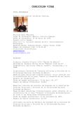 CURRICULUM VITAE - Páginas Personales UNAM