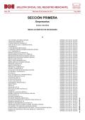 boletín oficial del registro mercantil - BOE.es