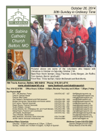 3 Weeks Ago (PDF) - Saint Sabina Parish
