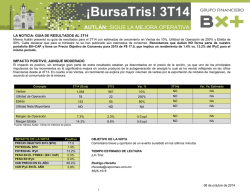 ¡BursaTris! 3T14 - Blog Grupo Financiero BX+