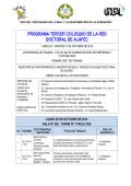 PROGRAMA TERCER COLOQUIO DE LA RED DOCTORAL - alafec