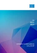 CH MBHX MBZX Unidades Condensadoras 1/4 a 30 HP - Bohn