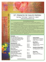 October 19, 201 - St. Francis de Sales Parish