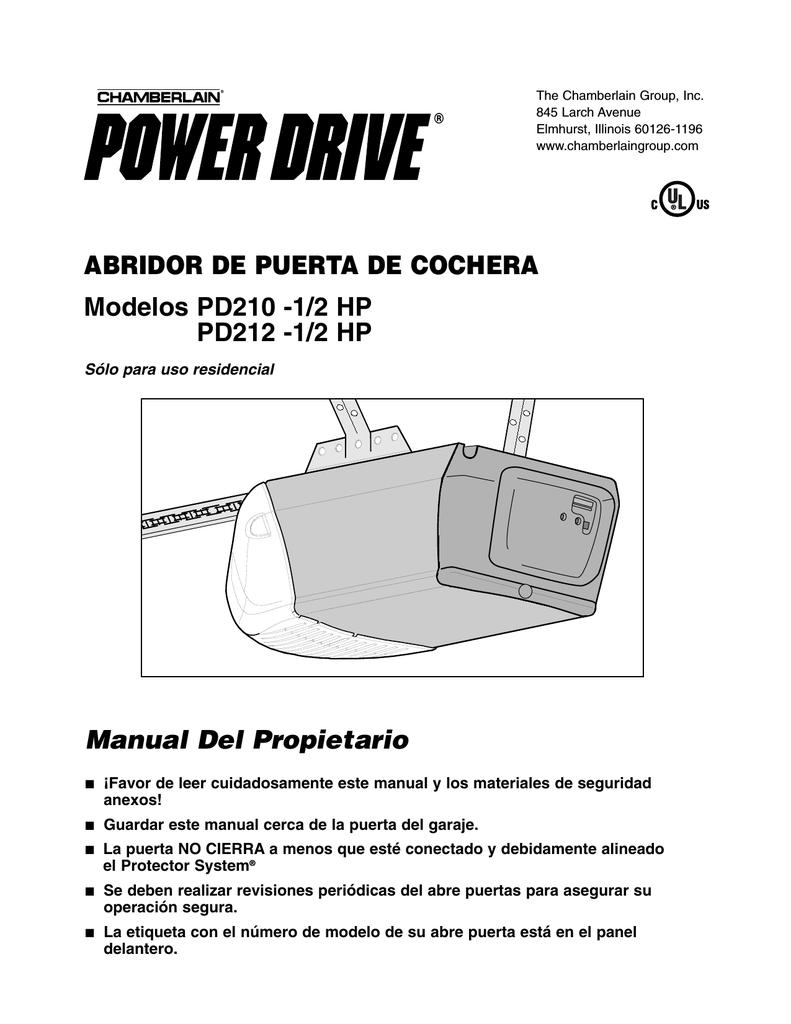 1 2 Hp Pd212 1 2 Hp Manual Del Propietario Manual Guide