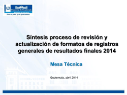 Descarga - Estadistica Final 2014