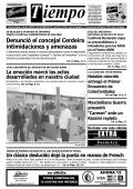 Denunció el concejal Cerdeira intimidaciones y amenazas