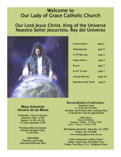Our Lady of Grace Catholic Church - E-churchbulletins.com