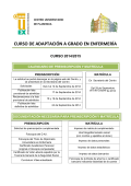 Calendario-Documentacion Curso Adaptacion Enfermeria 2014-15