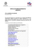 circular om/dgti/0066/2014 urgente - Consejo de la Judicatura Federal