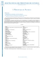 Boletín Oficial del Principado de Asturias