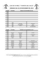 Liga de Futbol Fuentes del Valle - Jimdo