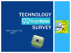 Technology Survey - Arlington Independent School District