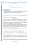PDF de la disposición - Gobierno del Principado de Asturias