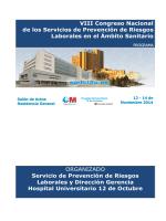VIII Congreso Nacional de los Servicios de Prevención de Riesgos