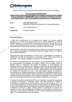 Informe Legal N° 490-2014-GART - osinergmin