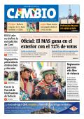 Oficial: El MAS gana en el exterior con el 72% de votos - Cambio