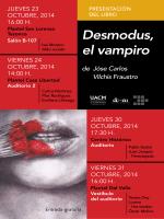 Desmodus, el vampiro
