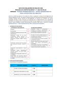 acta de evaluación de hoja de vida proceso de contratación nº 277