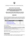 CONSEJO NACIONAL DE LA MAGISTRATURA - Click