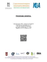 programa general - Universidad Autónoma del Estado de Hidalgo