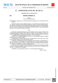 IV. ADMINISTRACIÓN DE JUSTICIA - Sede Electrónica del Boletin