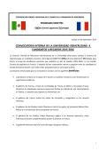 Convocatoria Mexfitec UV 2015 - Universidad Veracruzana
