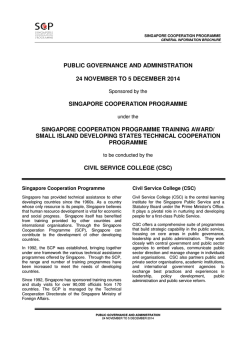 public governance and administration 24 november to 5 december