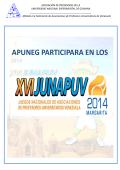 listado de participantes - Apuneg