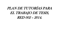 directores red de tesis 002 - 2014 - FCE - Universidad Estatal de