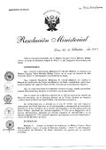 r.m. n° 743-2014-minsa - Ministerio de Salud