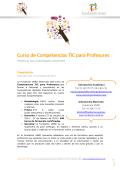 Curso de Competencias TIC para profesores - Fundación UNED