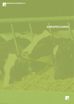Agropecuario - Instituto Nacional de Estadística