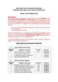 Resultado de Evaluación Curricular - SEDENA