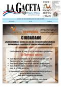 LA GACETA N° 194 de la fecha 09 10 2014
