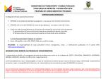 ministerio de transporte y obras públicas concurso de méritos y