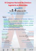 VI Congreso Nacional de Ciencia e Ingeniería en Materiales CNCIM