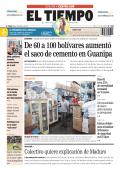 De 60 a 100 bolívares aumentó el saco de cemento en - El Tiempo
