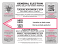 GENERAL ELECTION - Fresno County