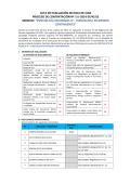acta de evaluación de hoja de vida proceso de contratación nº 280