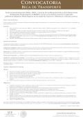 Convocatoria - Becas Media Superior - Secretaría de Educación