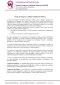 Norma de Progreso Académico Satisfactorio - Sistema Universitario